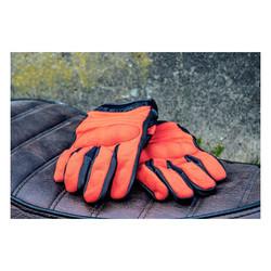 FNGR Motor Handschoenen Textiel FNGR Oranje