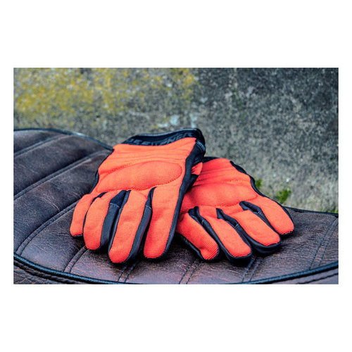 Roeg FNGR Motorradhandschuhe Textil FNGR Orange