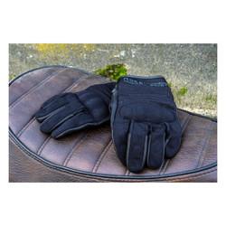 FNGR Motorradhandschuhe Textil FNGR Schwarz
