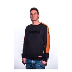 Randy Sweater Schwarz / Orange