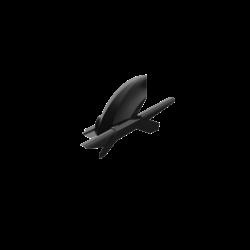 Heckfender mit Kettenschutz für Yamaha Diversion XJ600 '08