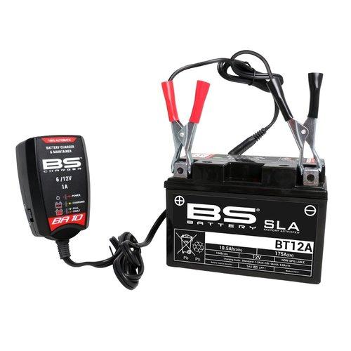 BS Battery STUNT! Acculader / druppellader BA10 6V / 12V 1000MA