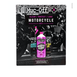 """Kit d'entretien moto """"Clean, protect and lube"""""""