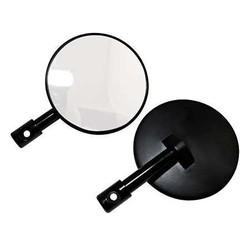 Pair of Black Bar End Mirrors