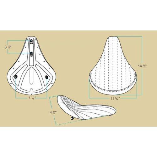 Biltwell SALE Solo 2 Diamond Stitch Bobber Seat
