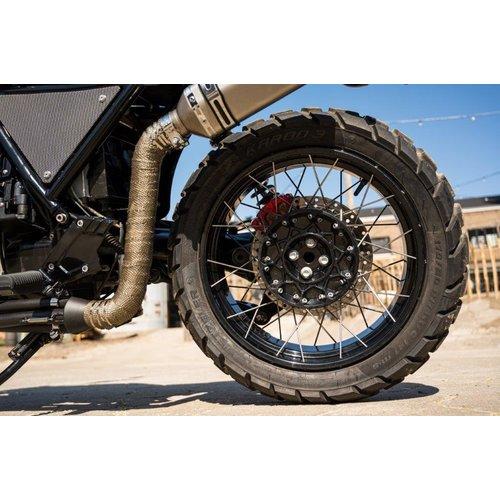 BMW K100RS Scrambler with wire wheels