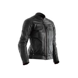 Black Roadster II CE Leather Motorcycle Jacket Ladies