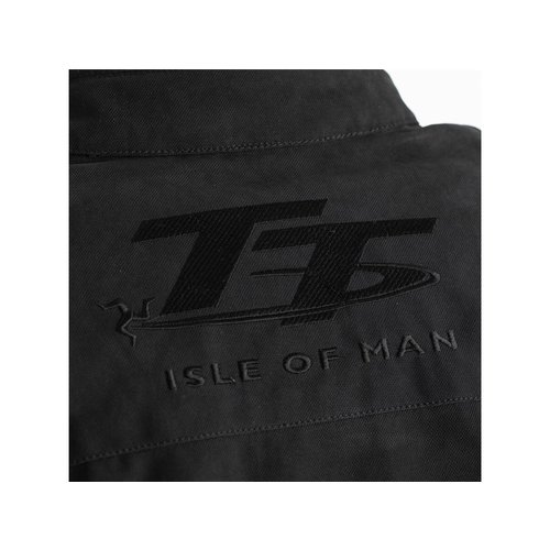 RST Matt Black IOM TT Crosby CE Motorcycle Jacket Textile Ladies