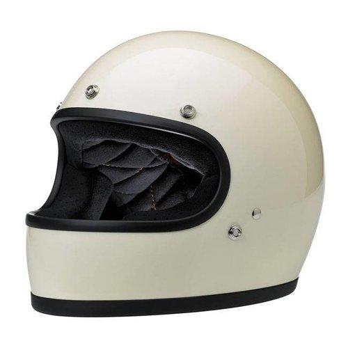 Biltwell Sale Gringo Helmet Gloss Vintage White ECE Approved