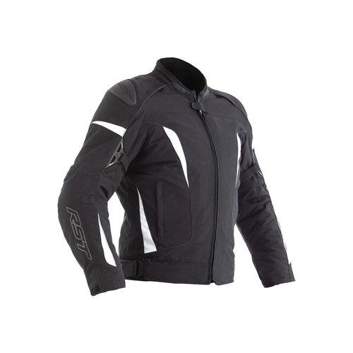 RST Black / White GT CE Motorcycle Jacket Textile Ladies