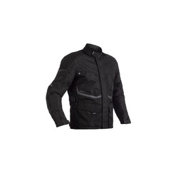 Black Maverick CE Motorcycle Jacket Textile Ladies