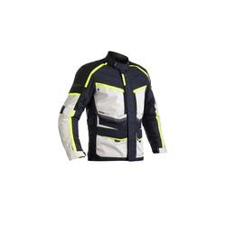 Blouson de moto Maverick CE bleu / gris pour femmes en textile