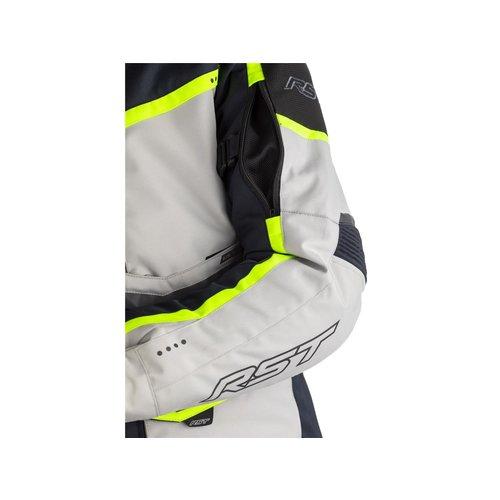 RST Blauw/Grijs Maverick CE Motorjas Textiel Dames