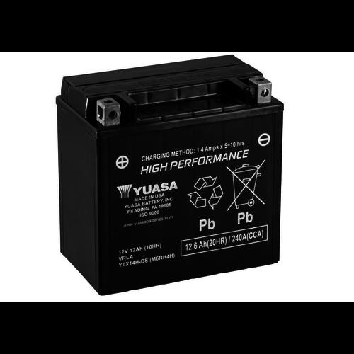 Yuasa YTX14AHL-BS Maintenance Free Battery