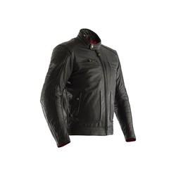 Veste de moto en cuir noir Roadster II Homme