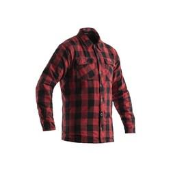 Rode Lumberjack Aramid Overhemd Textiel Heren