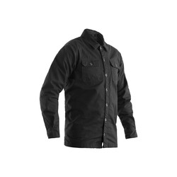 Gray Heavy Duty Aramid Shirt Textile Men