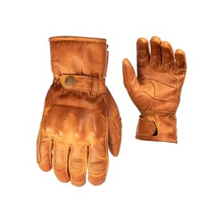 Brown Roadster II Leather Motorcycle Gloves