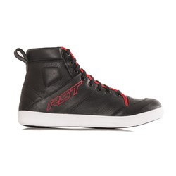 Chaussures de moto Urban II noires / rouges pour hommes