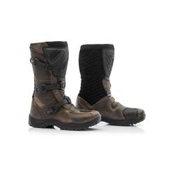 Brown Raid Motorcycle Boots