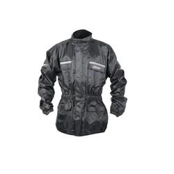 Black Waterproof Raincoat