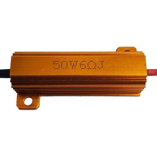 50W 6 Ohm weerstand voor LED richtingaanwijzers