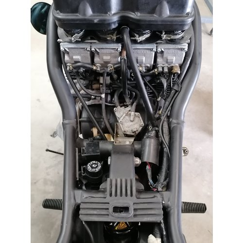 Yamaha Diversion 600 Cafe Racer