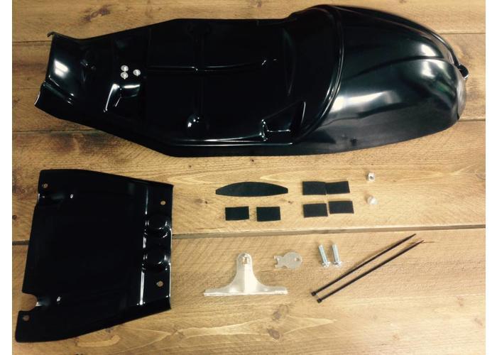 C.Racer Black Tuck N' Roll Triumph Bonneville 2008+ SEAT52