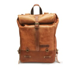 Backpack Pannier - Classix Roll Top Vintage Tan