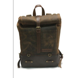 Backpack Pannier - Classic Roll Top Tobacco