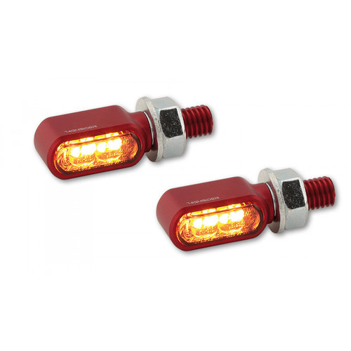 Highsider Little Bronx LED Achterlicht en Knipperlicht Combinatie