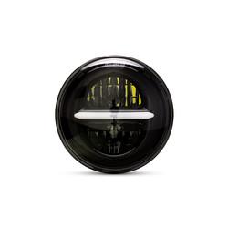 Insert de phare à DEL classique / moderne de 5,75 po, noir