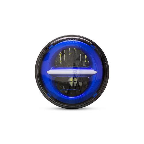 "5,75 ""zwarte klassieke / moderne LED-koplampinzet"