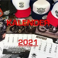 Cafe Racer Kalender 2021