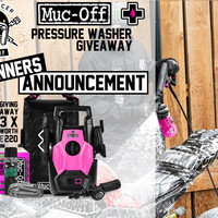 Winners Announcement Muc-Off Pressure Washers!!
