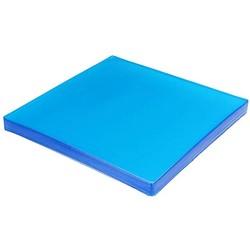 Blaue ergonomische GEL-Sitzeinlage 25 x 25 cm