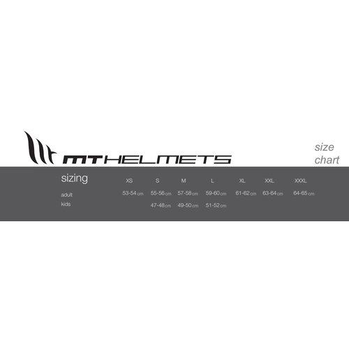MT Helmets Größe L - Le Mans Retro Speed Blau / Weiß