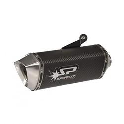 Spark Full System Carbon-uitlaatdemper MT-07