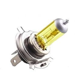 Ampoule old school jaune HID H4 90W