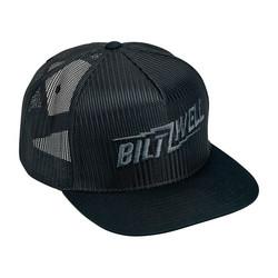 Bolts Snapback Cap Black