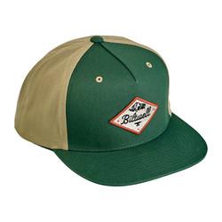 Rocky Mountain Snapback Cap Green/Beige