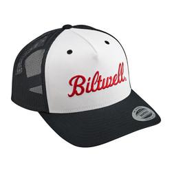 Logo Snapback Cap Schwarz / Weiß / Rot