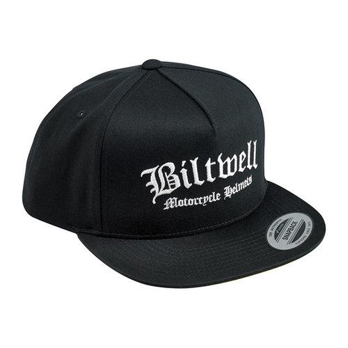Biltwell Southbay Snapback Cap Zwart / Geel / Wit