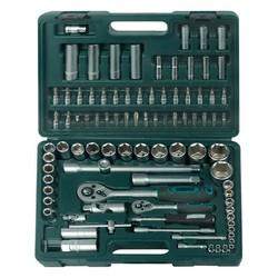 Boîte à outils 1 / 4e + 1 / 2e 94 pièces