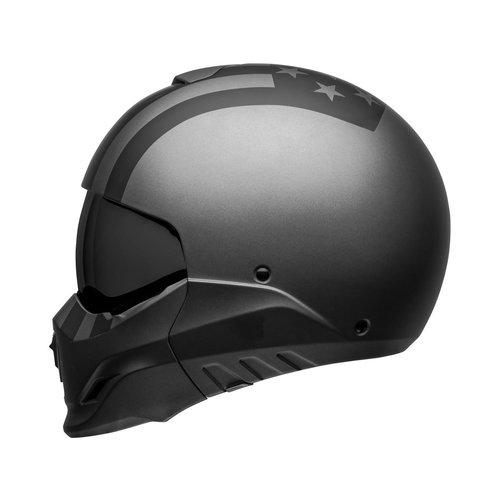 Bell Broozer Helm Free Ride Matgrijs / Zwart