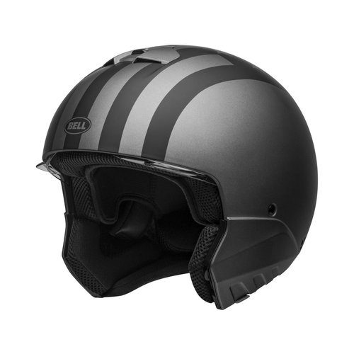 Bell Broozer Helm Free Ride Matt Grau / Schwarz