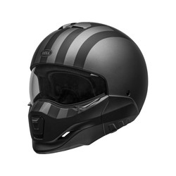Broozer Helmet Free Ride Matt Gray/Black