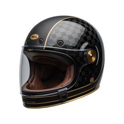 Bullitt Carbon Helm RSD Check-It Mat / Glans Zwart