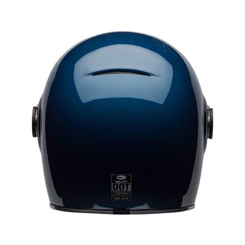 Bell Bullitt DLX Helm Flow Glans Lichtblauw / Donkerblauw