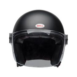 Riot Helm Solide Mat Zwart